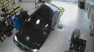 Funny Stupid Woman Car Crash Accident Oil Station 6887832 YouTube-Mix