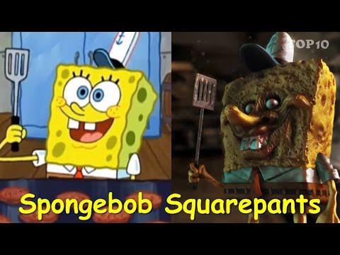 Spongebob In Real Life | Spongebob Squarepants Characters | TOP 10