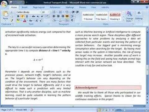 Microsoft word 2007 not working?