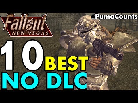 Top 10 Best Vanilla (NO DLC) Guns And Weapons In Fallout: New Vegas #PumaCounts