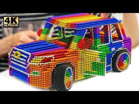 DIY - Howto Make TOYOTA Land Cruiser V8 2020 (New Version) From(Satisfying)|Magnet World Series #214