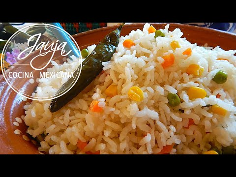 Arroz Blanco Mexicano