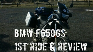6. BMW F650GS LAMS Adventure / Dual Sport Bike | First Ride & Review On and Off Road