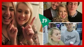 VLOGMAS DAY 17! My big brother surprises me at the train station and our friendship group does festive Secret Santa drinks ♥ CATCH UP ON THE REST OF VLOGMAS:...