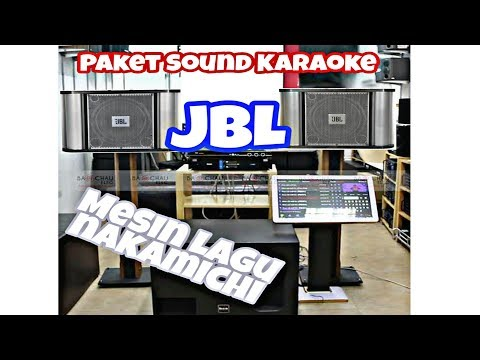 Full Set Sound JBL Karaoke