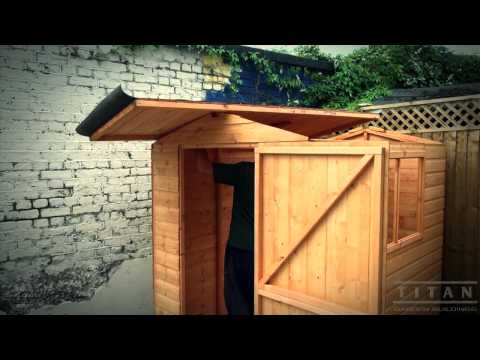 how to put up a garden shed how to build