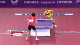 ЧМ по настольному теннису 2013 финал женщины Liu Shiwen - Li Xiaoxia