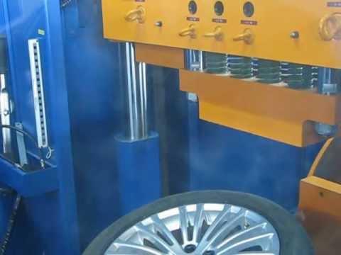 Проверка прочности диска WSP Italy W450 DRESDEN на удар (Volkswagen)