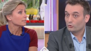 Video [Zap télé] Echanges tendus entre Florian Philippot et Anne-Sophie Lapix 12/04/2017 MP3, 3GP, MP4, WEBM, AVI, FLV Juli 2017