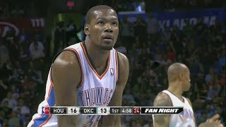 Kevin Durant - Oklahoma City Thunder - Houston Rockets