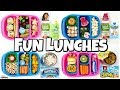Video NEW LUNCH BOXES! 🍎 NEW Fun Lunch Ideas