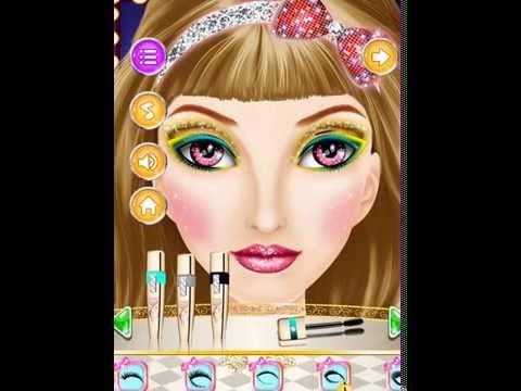 game trang điểm khuôn mặt makeup