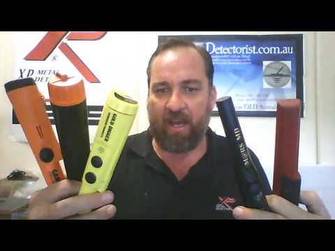 5 way pin pointer comparison XP mi-6, Garrett Carrot , TRX, Land or Sea and THE MARSMD tested