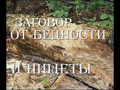 Заговор от бедности и нищеты - DomaVideo.Ru