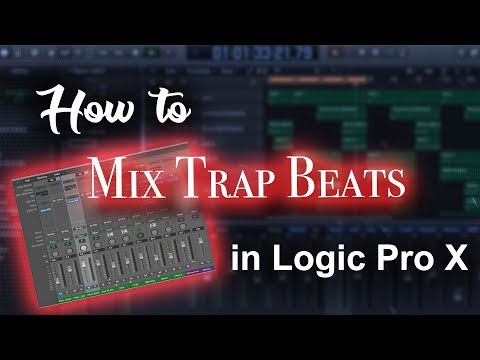 How to mix trap beats in Logic Pro X Tutorial | Beat Maker Tutorials