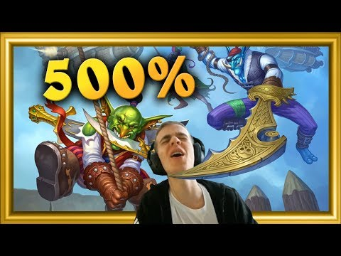 Pirate Rogue Is Broken = 500% Winrate!!
