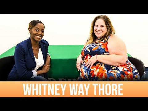 Whitney Way Thore Comes to UNC Charlotte!