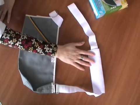Повязка для руки в гипсе своими руками