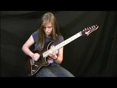 Eruption - Van Halen Cover By 14 Year Old
