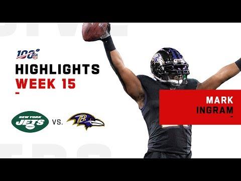 Mark Ingram Grounds Jets w/ 2 TDs | NFL 2019 Highlights