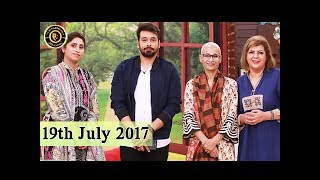 Guest: Misbah Khalid, Naila Jaffri, Dr Saima, Zuni Team ZUNITopic: Very true motivational personality for a cancer patientHost: Faysal QureshiSalam Zindagi is a unique morning show that is full of life and a variety of colors, providing an energetic, optimistic and festive start to your daily routine.With distinguished guest celebrities, cooking tips, live musical performances and an interactive audience, this show will definitely add the good to your mornings!No matter what troubles people sleep through at night, they should always wake up to a positive new day!With Salam Zindagi, the host Faysal Qureshi takes responsibility to make Pakistan a happier nation every morning!