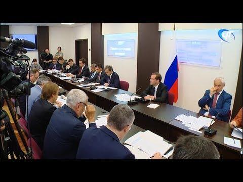 Продолжением рабочего дня премьера в Великом Новгороде стал разговор о развитии высоких технологий