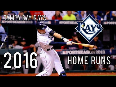 Tampa Bay Rays | 2016 Home Runs (216)