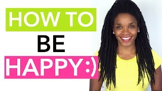 """Video Topic: How to Be Happy: 2 Ways to Be Happier All The Time (Dr. Phoenyx's FitBeauty Shop: http://bit.ly/2lblZHj)Want a bit more """"happy"""" in your life? Of course you do! Truth be told, the science of happiness and """"how to be happy"""" is one of the most widely researched topics and today I'll be sharing advice on how to be happy, as well as 2 super simple and very effective ways to be happier all the time. Bottom line, happiness is a CHOICE. Yup ladies, it's totally up to YOU whether you'll experience happiness. And ultimately, if you truly want to be happy the choice you'll need to make will be based in your daily thoughts (i.e. practicing a mindset of gratitude) and through your daily actions (i.e. practicing """"happy"""" behaviors like smiling more). Enjoy the video ladies! Stay awesome & beautiful, and also check out the links below for healthy goodies at the FitBeauty Shop! – DocLinks You'll Love: **Dr. Phoenyx's FitBeauty Shop https://www.drphoenyx.com** Dr. Phoenyx's FitBeauty Shop on Amazon http://amzn.to/2pbcaGM** Get the Doc's FREE eBook http://bit.ly/2j5zSW2If you enjoyed this video please Like, Share, and Subscribe!Follow Dr. Phoenyx on:Website      https://drphoenyx.comFacebook    https://www.facebook.com/DrPhoenyx/Instagram    https://www.instagram.com/drphoenyx/** Dr. Phoenyx Austin, MD is the founder of the FitBeauty Shop and the creator of Dr. Phoenyx Nutrition. A fitness entrepreneur, best-selling author, and certified Sports Nutrition Specialist, Dr. Phoenyx provides nutrition products and practical tips to help women achieve a fit and beautiful body from the inside out!***DISCLAIMER:Dr. Phoenyx Austin and Dr. Phoenyx LLC strongly recommend that you consult with your physician before beginning any exercise or diet program.You should understand that when participating in any exercise or diet program, there is the possibility of physical injury. If you engage in any exercise or diet program shared by Dr. Phoenyx, you agree that you do so at your own risk"""