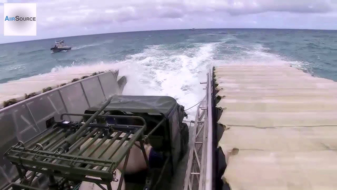 On Board The Ultra Heavy-Lift Amphibious Connector (UHAC)