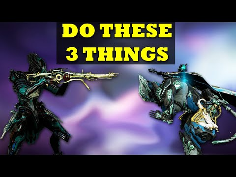 The Three Things You Need To Do First In Warframe