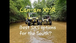 8. Canam Defender XMR & X3 XMR Review & Ride Down South
