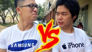 Video iPhone vs. Samsung MP3, 3GP, MP4, WEBM, AVI, FLV Mei 2017