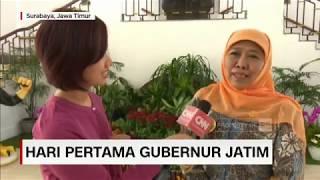 Download Video Melihat Kegiatan Hari Pertama Kerja Gubernur Jatim Khofifah MP3 3GP MP4