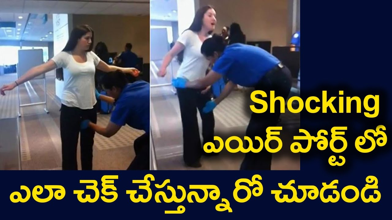 Shocking Video Airport Security Check Moments