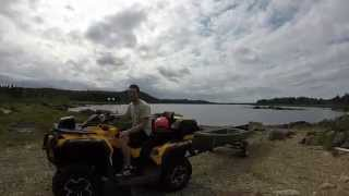2. 2013 Can Am Outlander 650 Max XT. Trip to Terra Nova, NL