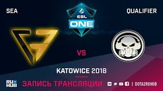 Clutch Gamers vs Execration, ESL One Katowice SEA, game 3 [CrystalMay]