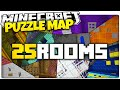 Download Lagu Minecraft | 25 ROOMS (Minecraft Puzzle Map) Mp3 Free