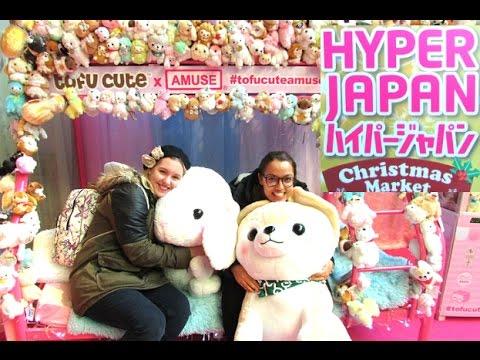HYPER JAPAN CHRISTMAS MARKET VLOG!