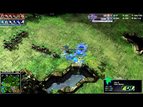Sen vs Crank - Game 1 - WCS AM Premier Group G
