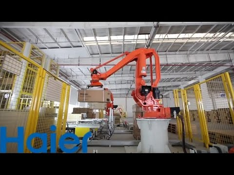 Автоматизированный завод кондиционеров Haier