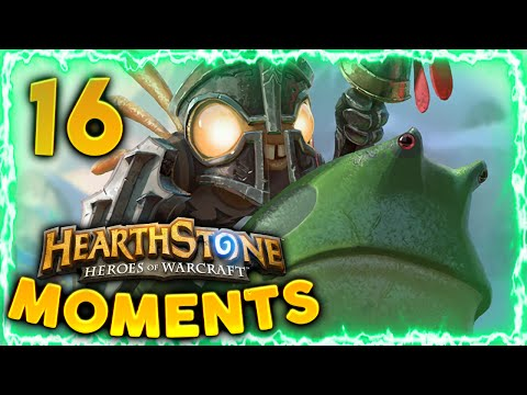 Hearthstone Funny Moments #16 - Daily Hearthstone Best Moments Funny Epic Plays | Murloc Knight