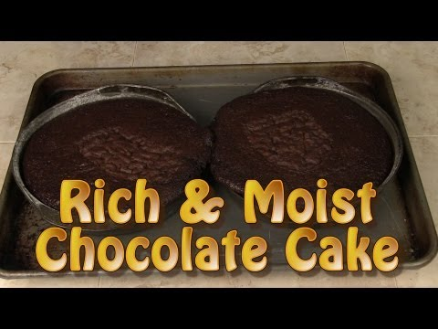 Very Easy Rich and moist Chocolate Cake Recipe