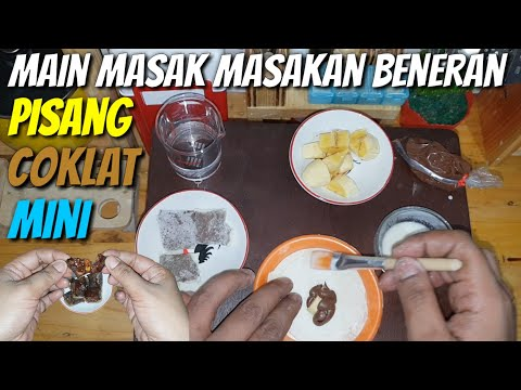 "Tiny cooking ""CHOCOLATE BANANA"" 