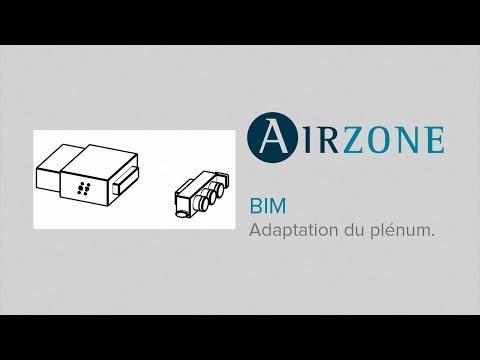 3. Airzone BIM : Adaptation du plénum