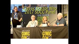 Catch up with the 5th and 6th Doctors, as well as Ace, the companion to the 7th Doctor! They discuss everything from filming the...