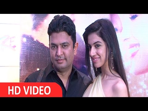 Divya Khosla & Bhushan Kumar At Success Party Of Film Sanam Re