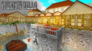 INSANE $3M Spanish MEGA MANSION! (Roblox)