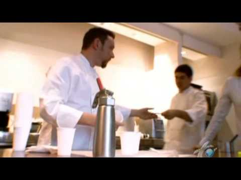 Albert Adria test kitchen
