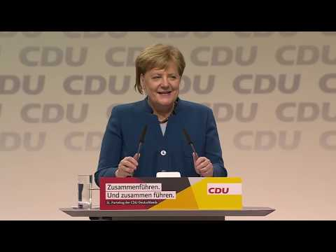 CDU Parteitag in Hamburg: Livestream mit Merkel-Rede, K ...