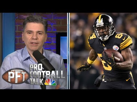 Video: Is Antonio Brown scaring teams away with public actions? | Pro Football Talk | NBC Sports